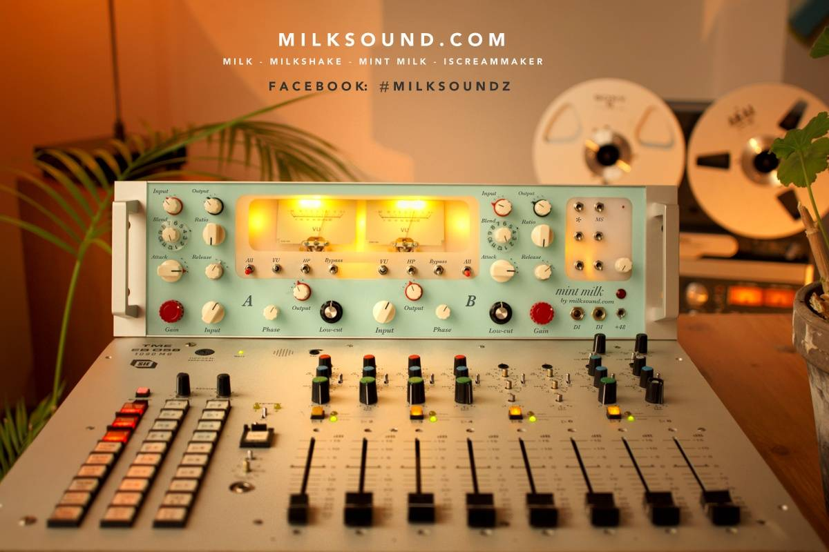 Milksound com - Audio Mixing & Mastering Equipment